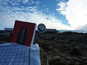 Готовая книга в Антарктиде